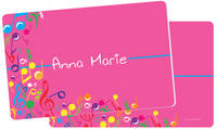 Bright Notes Fuchsia Placemat