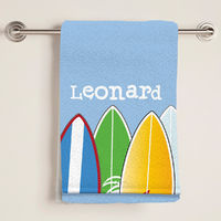 Cool Surfboards Bath Towel