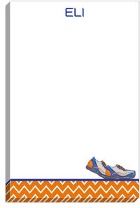 Running Sneakers Notepad