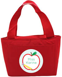 Apple Half Insulated Tote
