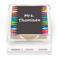 Crayon Creative Sticky Note Holder