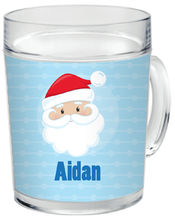 Happy Santa Clear Acrylic Mug