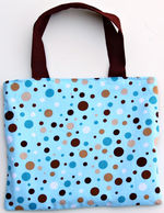 Chocolate Dots Crayon Purse CP04