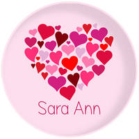 Heart of Hearts Plate