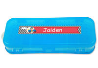 Little Racer Double-Sided Pencil Case