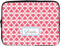 Coral Damask Laptop/Tablet Sleeve
