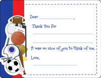 Sports Camp Fun Fill-in Card