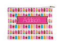 Bright Popsicles Flat Accessory Pouch