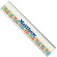 Dots on Dots Acrylic Ruler