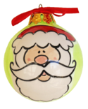 Santa Face Ornament SLGSF