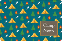 Camp Grounds UNPERSONALIZED Postcard