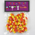 Ghoulish Friends Candy Bag Toppers