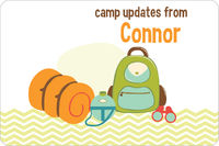 Camp Supplies Postcard