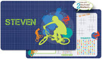 Riders Dry Erase Placemat