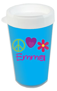 Bright Stitches Clear Acrylic Tumbler