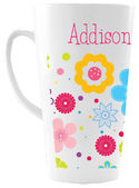 Flower Bunch Ceramic Coffee Mug