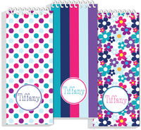 Flowers and Dots Slim Journal Set