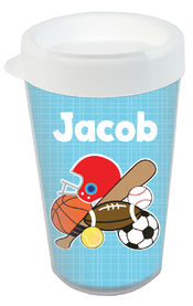 Just Sporty Clear Acrylic Tumbler