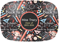 Back to School Melamine Platter