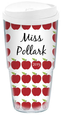 Ample Apples Acrylic Travel Cup