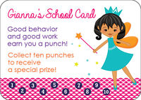 Pixie Princess Reward Card
