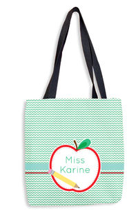 Apple Half Tote Bag