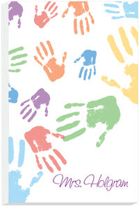 Colorful Hands II Notepad