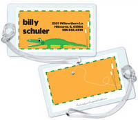 Alligator Chomp Luggage Tag