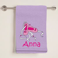 Ballet Bath Towel
