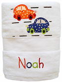 Traffic Embroidered and Applique Towel