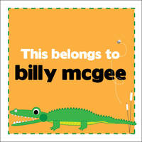 Alligator Chomp Camp Stickers