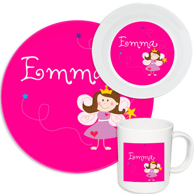 Fairy Princess Melamine Set
