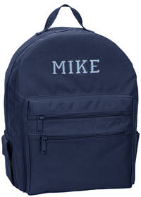 Varsity Boy Embroidered Backpack
