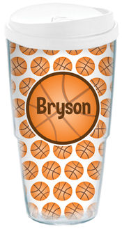 Basketball Love Acrylic Travel Cup