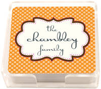Chocolate Orange Frame Coasters