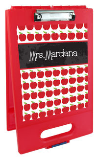 Chalkboard Wishes Clipboard Storage Case