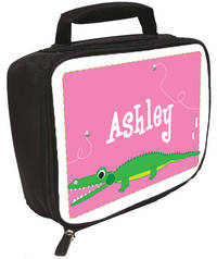 Girly Alligator Chomp Lunch Box