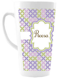 Lilac Florals Ceramic Coffee Mug