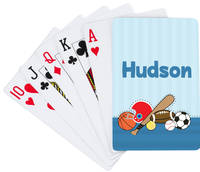 Just Sporty Playing Cards