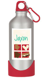 Brown S'mores Water Bottle