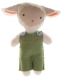 Lamb Boy Stuffed Animal