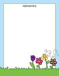 May Flowers Notepad