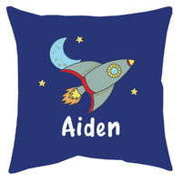 Blast Off Accent Pillow