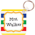 Primary Colors Class Key Chain