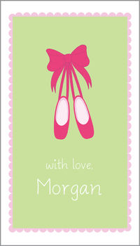 Ballerina Shoes Gift Sticker