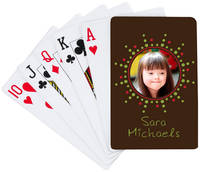 Holiday Burst Playing Cards