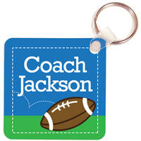 Football Coach Key Chain