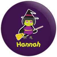 Broomstick Witch II Plate