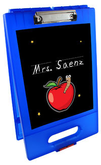 Apple For Teacher Clipboard Storage Case