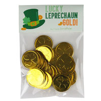 Lucky Leprechaun Candy Bag Toppers
